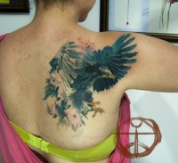 Tattoo eagle by koraykaragozler