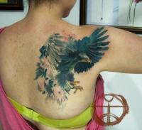 Tattoo eagle by koraykaragozler